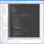 The JavaScript editor in Domino Designer